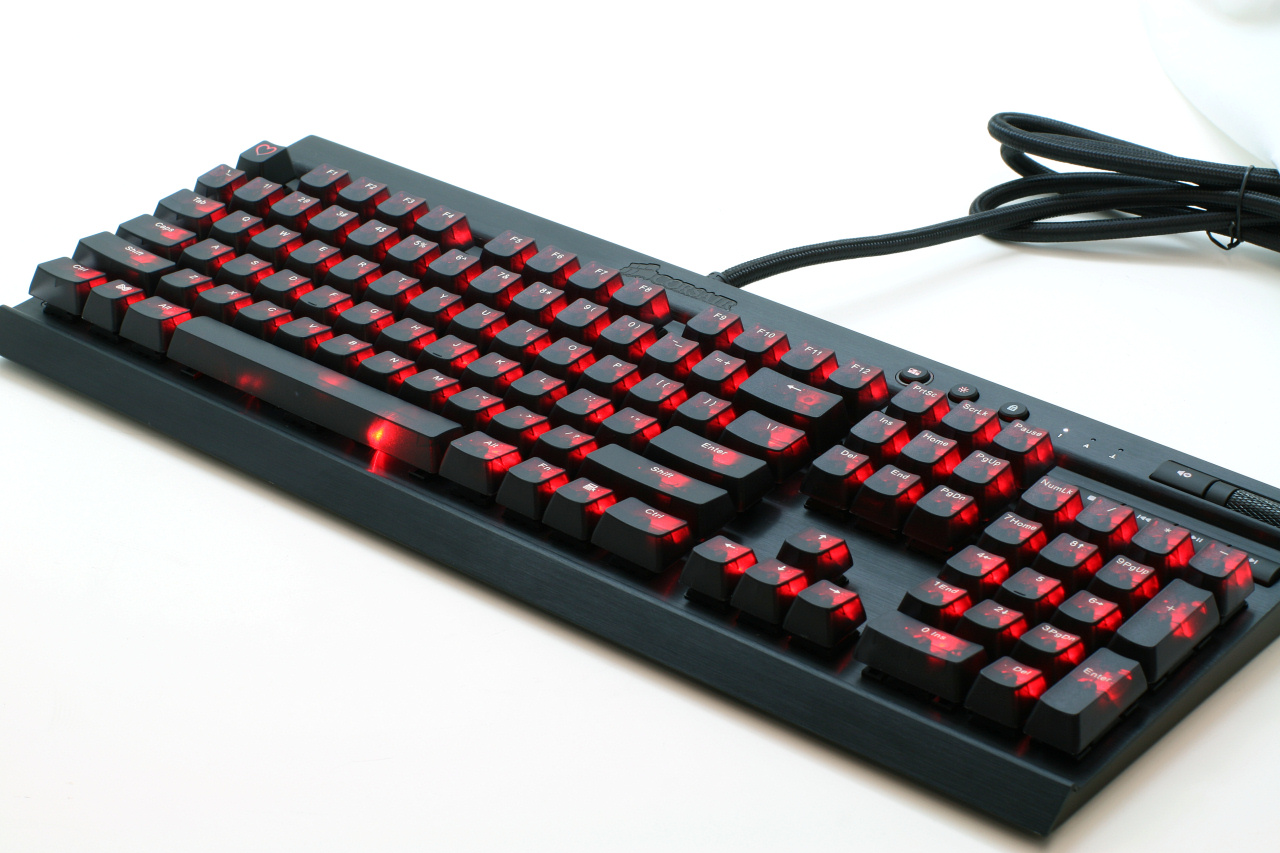 Cherry Mx Key Cap Yxt Corsair Gaming Strafe Red Led Board 60 Keyboard And Back Lighting With Dual Colour Leds For Caps Lock Scroll Num Plus Windows The Win