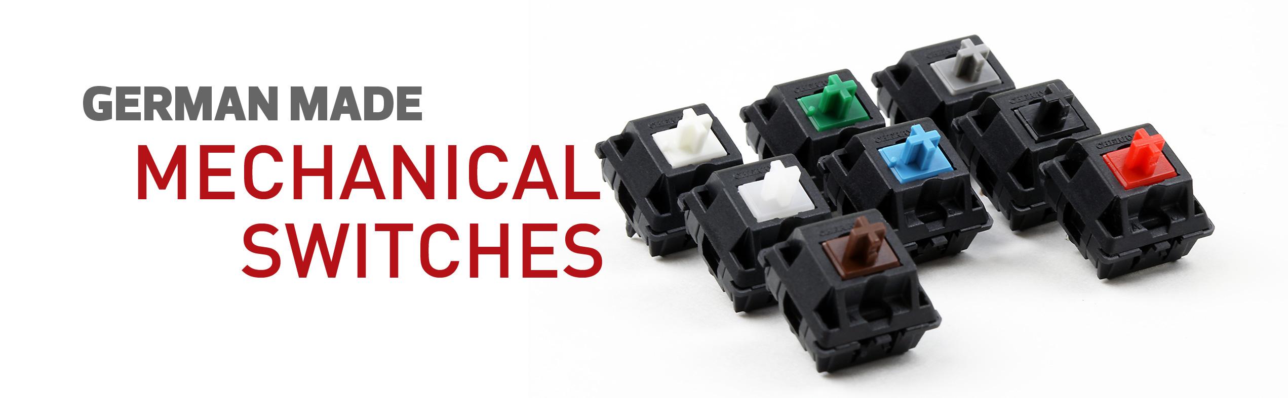 Max Keyboard Cherry MX Mechanical Switches
