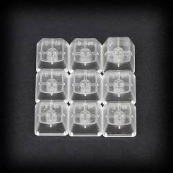 Max Keyboard custom Clear Translucent Cherry MX Blank Keycap Set for ESC, W,A,S,D or E,S,D,F and Arrow Keys