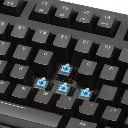 Max Keyboard Nighthawk X7 (Cherry MX Blue) Backlit Mechanical Keyboard
